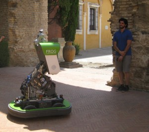 Rafael and FROG, Seville 2014