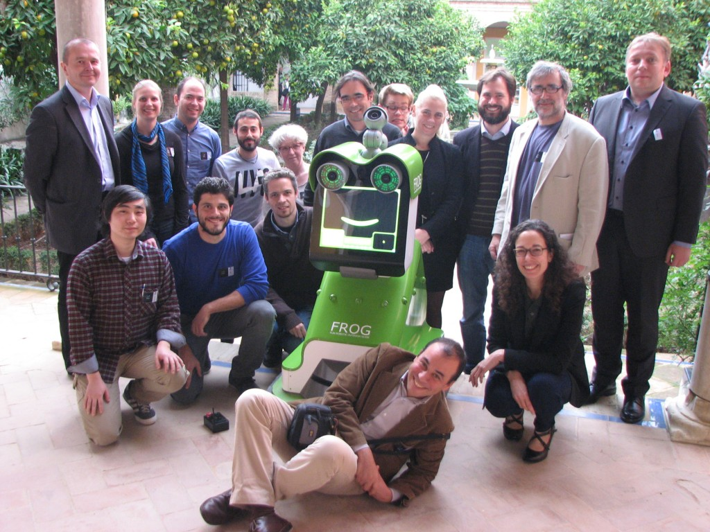 Project Officer, Consortium and reviewers with FROG - 20 Nov 2014